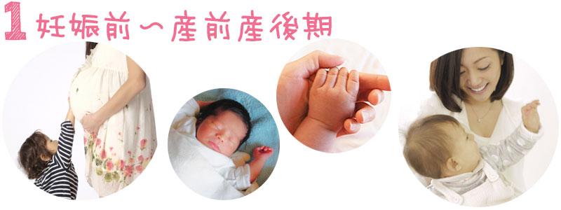 妊娠前〜産前産後期