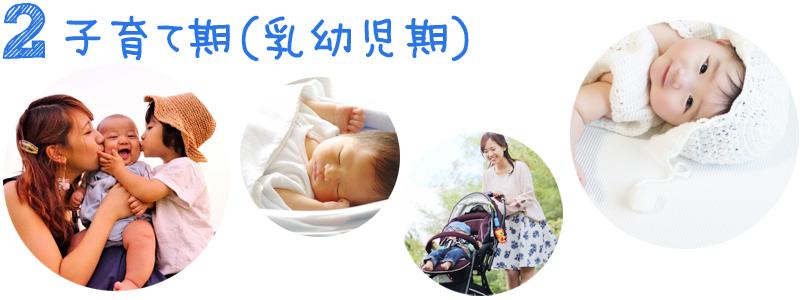 子育て期(乳幼児期)