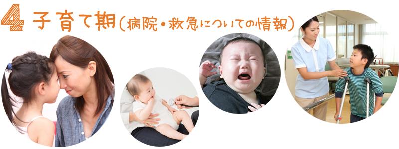 子育て期(病院・救急についての情報)