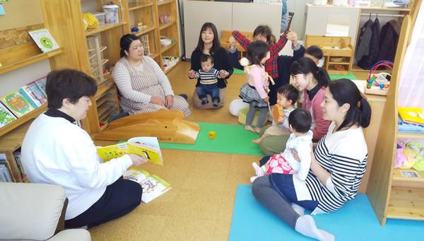 子育て支援センターとしても活動されている 親子ひろば「よんぶらこ」へ行ってきました!